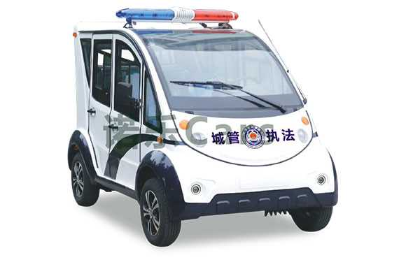 4座封闭式电动巡逻车NL-XT4